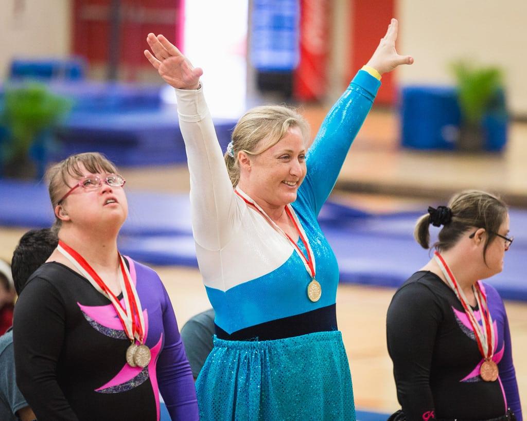Special needs debi pose