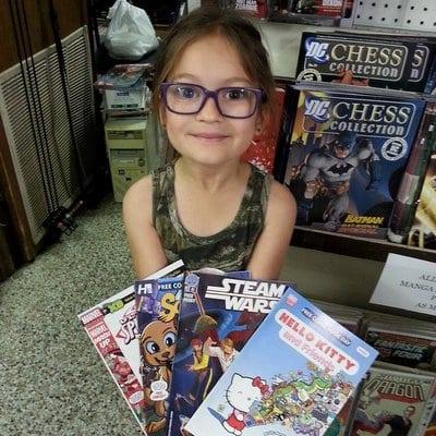 fun ideas for kids free comics 2015