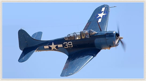 Living History Flying Day: SBD Dauntless