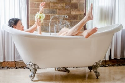 Positive parenting home spa