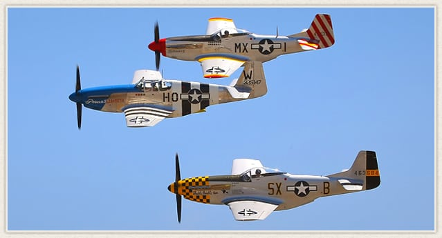 Living History Flying Day: P-51