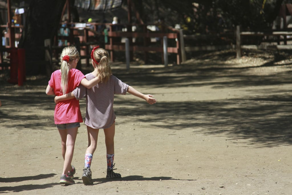 Friendships formed at camp can last a lifetime. PHOTO COURTESY CAMP JCA SHALOM