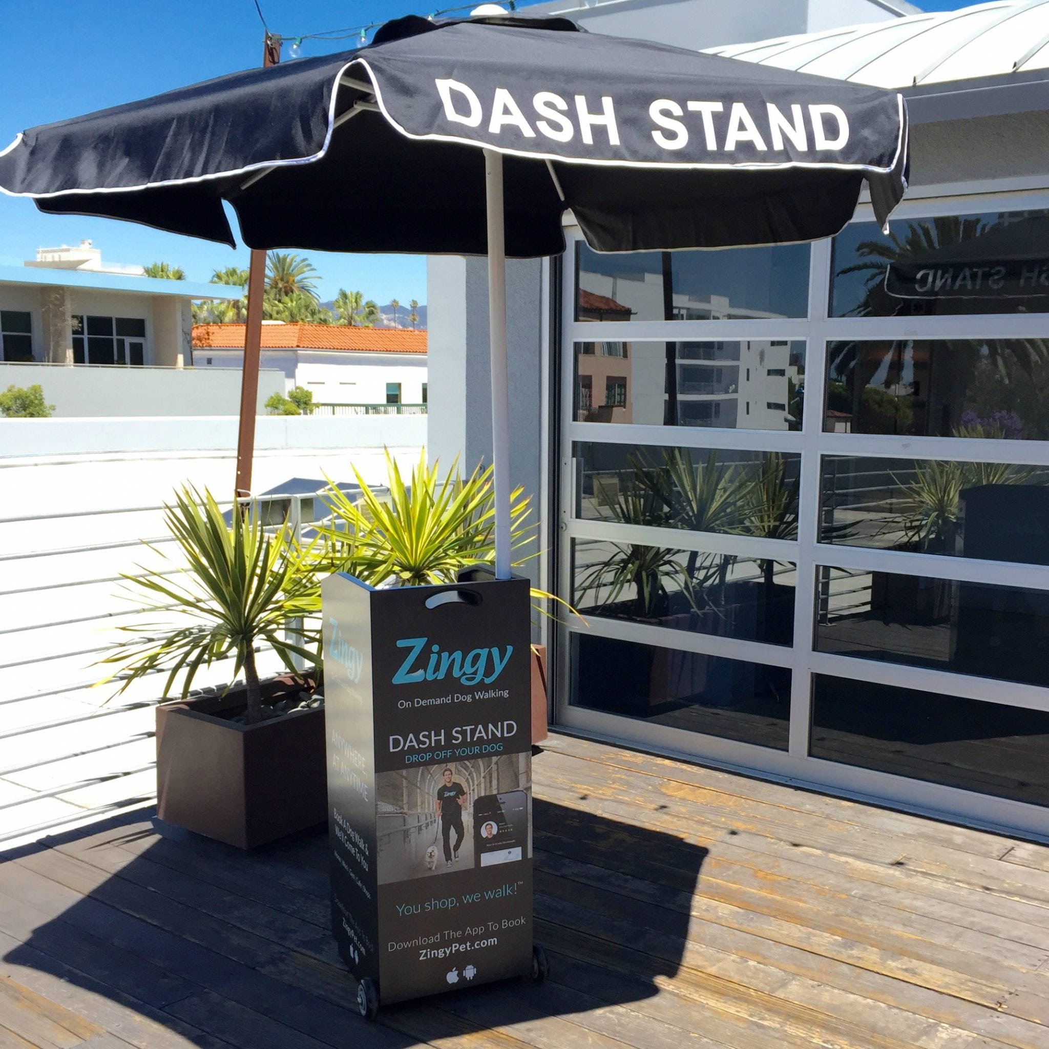 DASH Stand - Office Roof