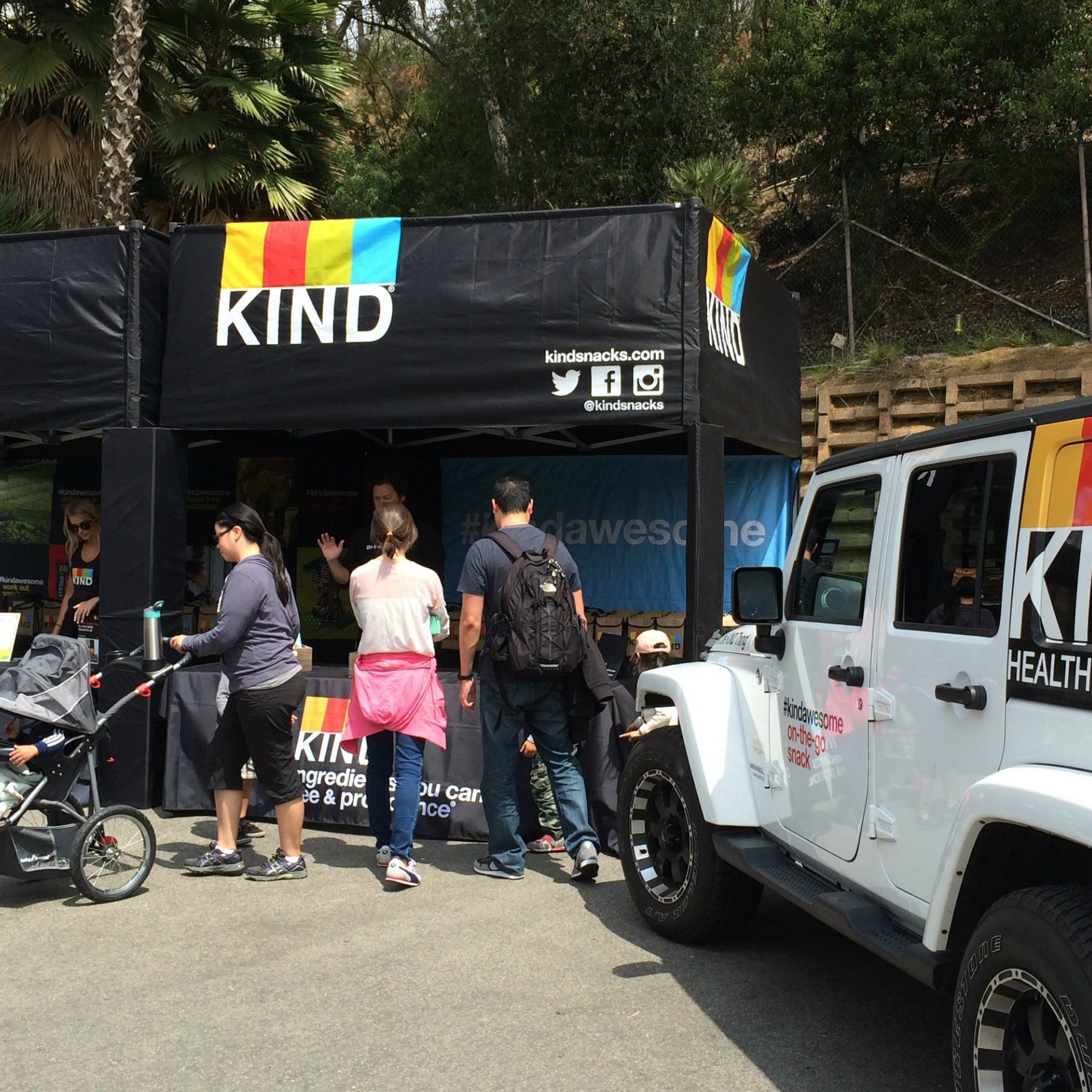 KIND booth at LA Zoo square