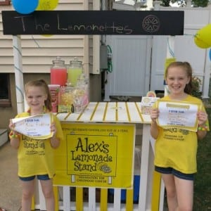 fun summer activities Alex's Lemonade Stand