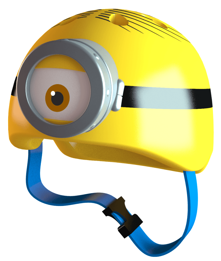 Safety First: Minions Helmet and Safety Pads | L.A. Parent