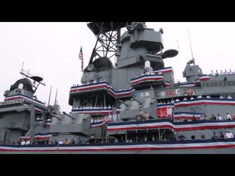 Memorial Day Celebration On The Battleship IOWA