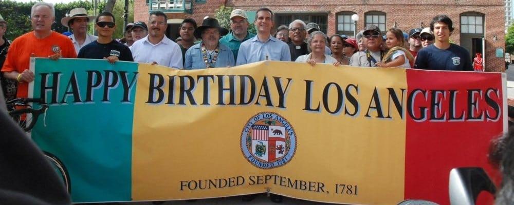 Los Angeles City Birthday Celebration