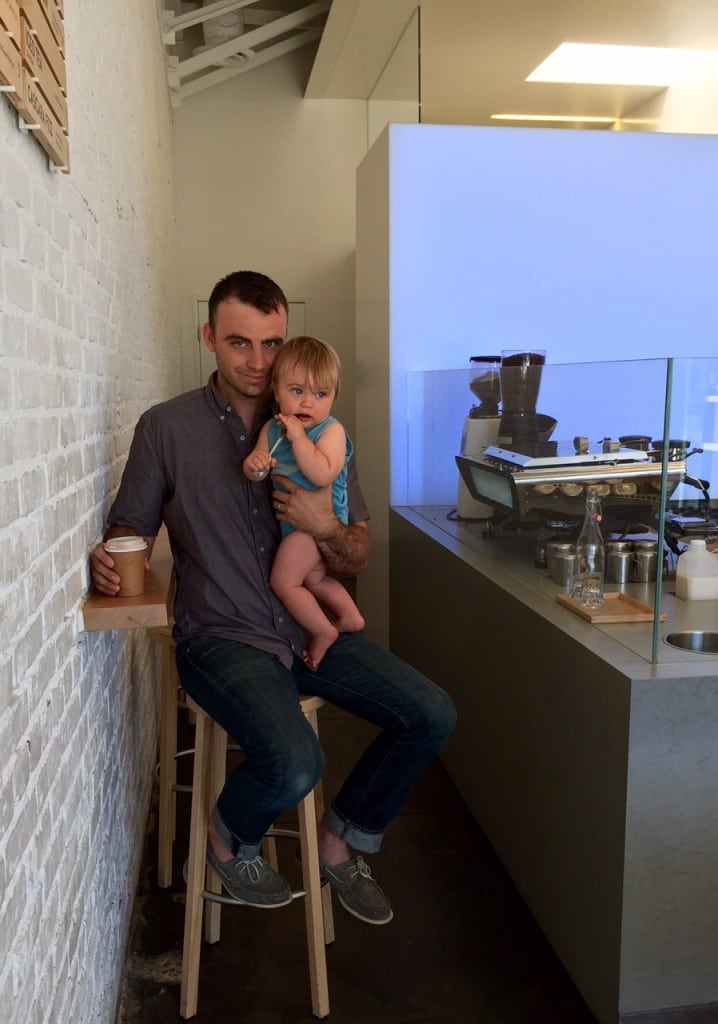Things to do in L.A. - Dad coffee