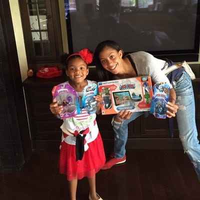 Parenting : Candace Parker at home