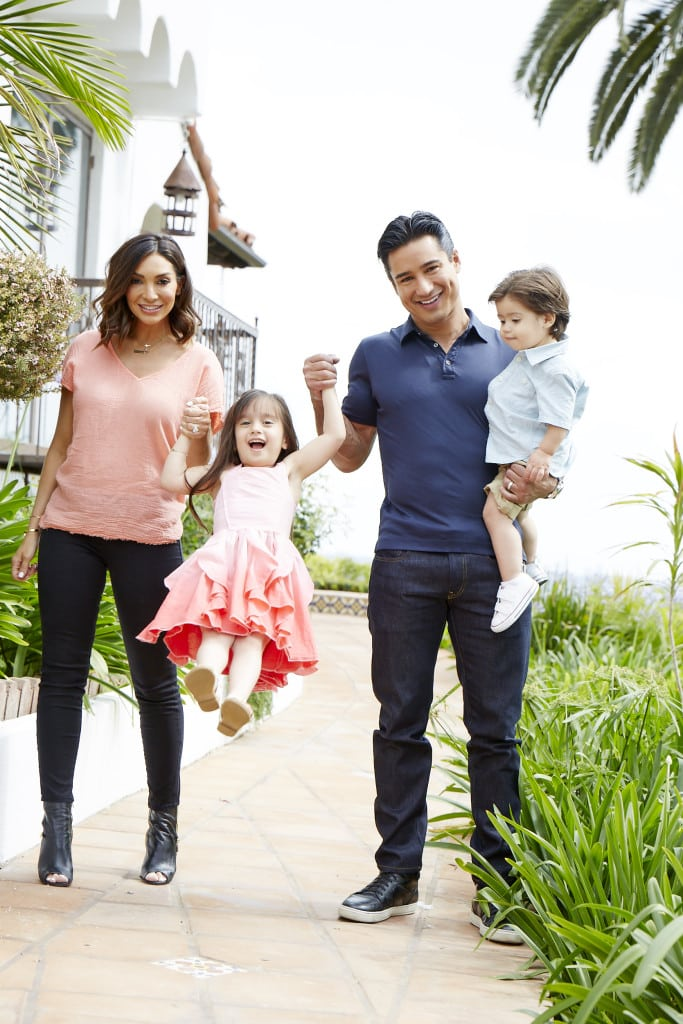 Mario Lopez A Dad With Something Extra
