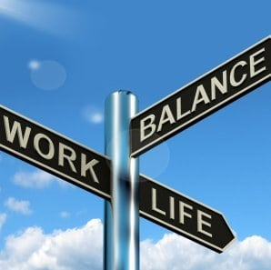 Work Life Balance Square