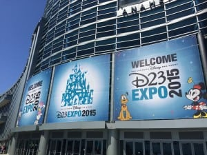 Anaheim Convention Center D23 Expo