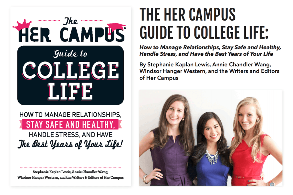 Parenting - Her Guide to Campus Life