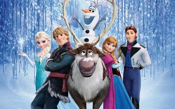 Battleship IOWA's Movie Under The Guns: Frozen