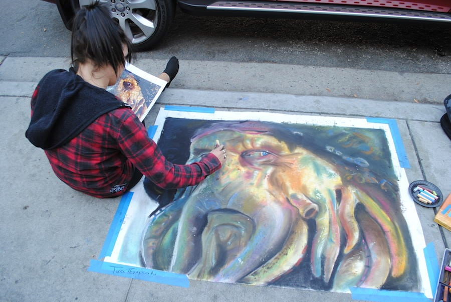 Belmont Shore Sidewalk Chalk Art Contest