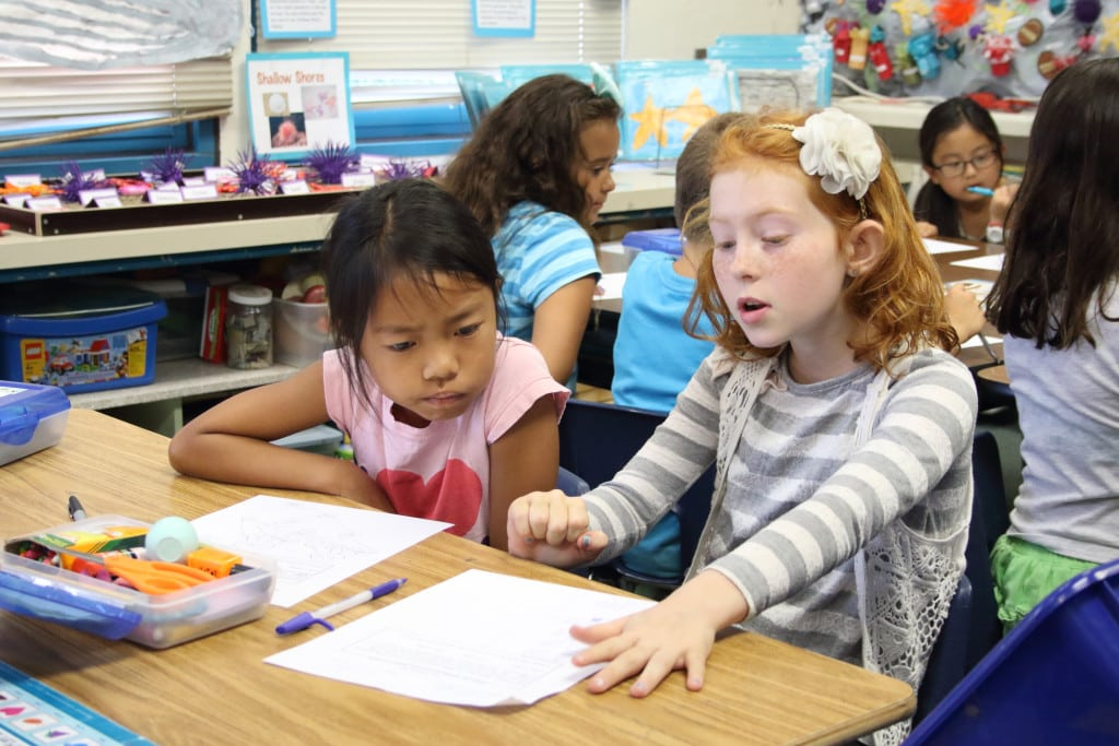 Collaborative Student Work : Common core education in the classroom
