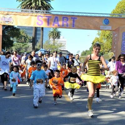 Kids Cancer Run Square