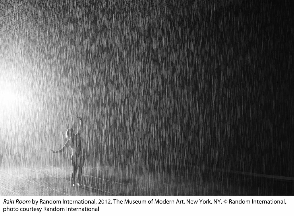 Los Angeles attraction - Rain Room