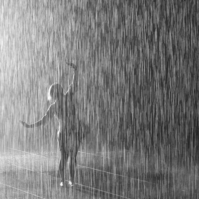 Rain Room Square