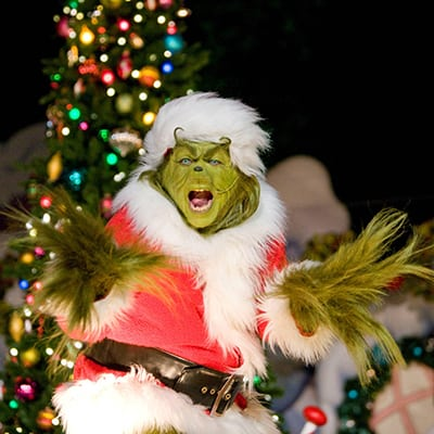 Los Angeles attraction - Universal Grinchmas