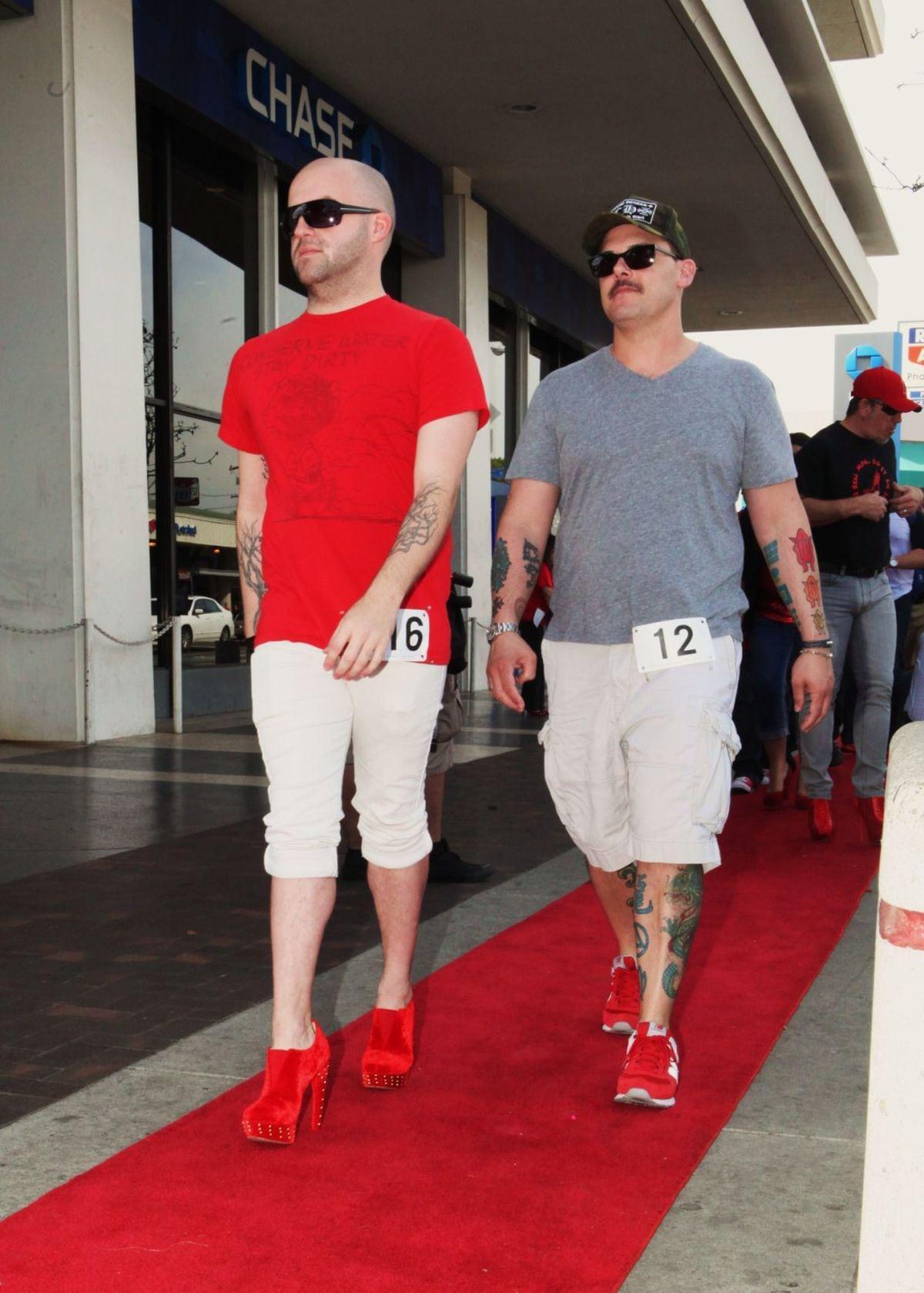 Red High Heels Walk