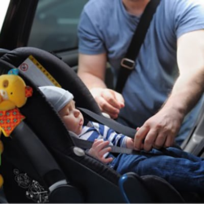 Driving Baby Square