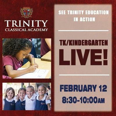 Transitional-Kindergarten & Kindergarten Live!