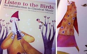 enrichment - music - listen to the birds