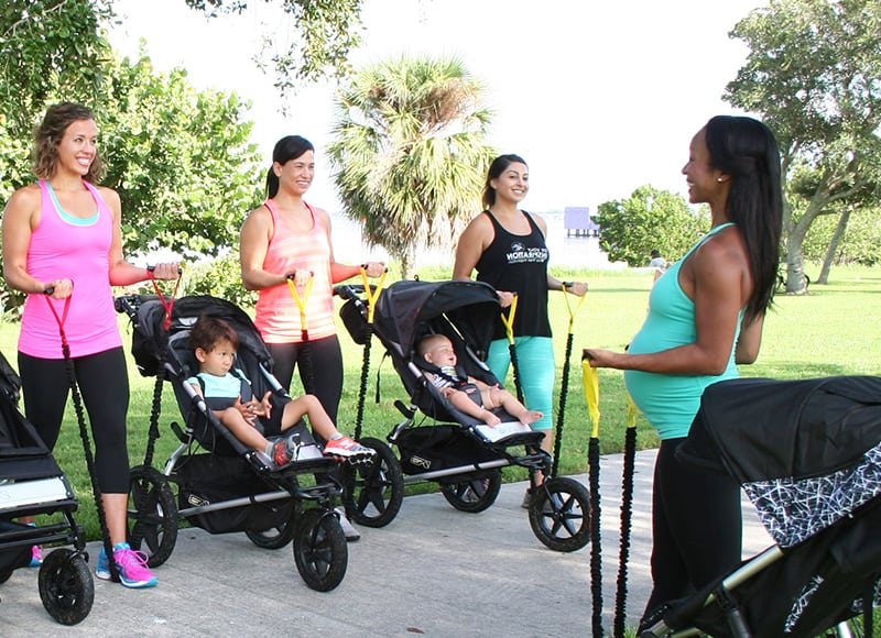 Los Angeles Events - Baby Boot Camp Sweat Angels