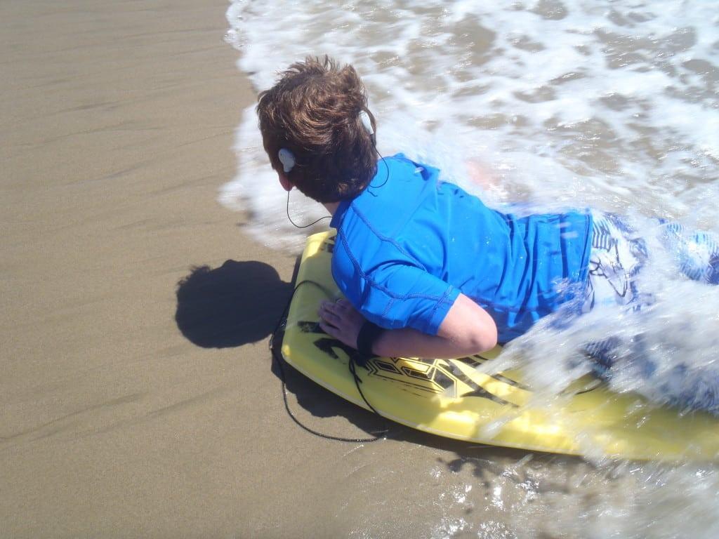a92ccd47f2 Deaf Son's Need Inspires Swim Shirt Company | L.A. Parent