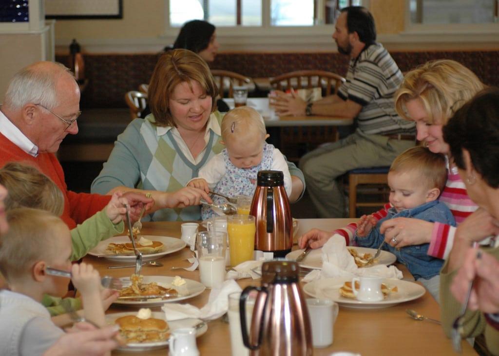family fun - Pancake Day 2016