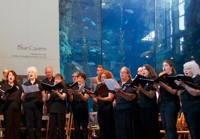 The Aquarium of the Pacific Presents The Long Beach Chorale Summer Concert