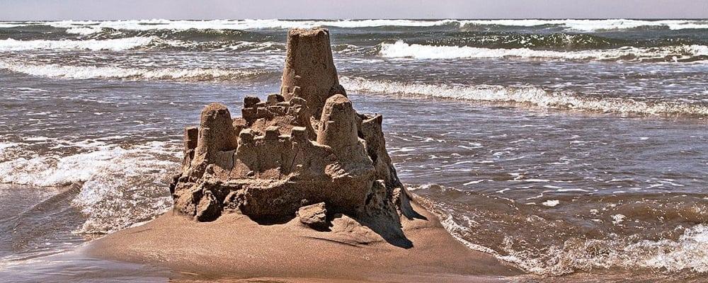 Family Sandcastle Building Day