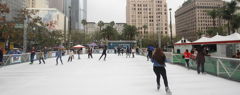 The Bai Holiday Ice Rink Pershing Square Opening Day Celebration