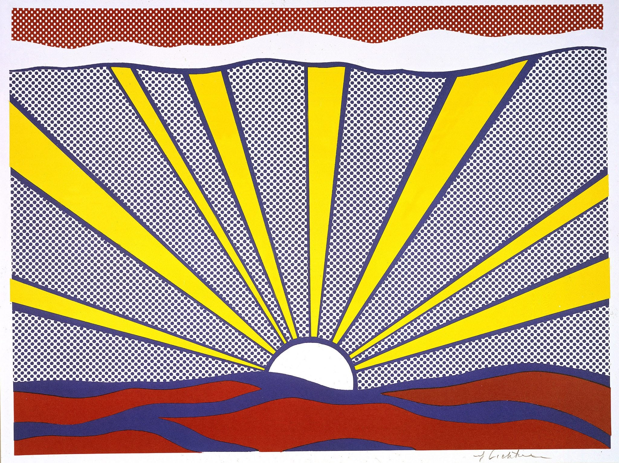 """Pop for the People: Roy Lichtenstein in L.A."" Exhibit"