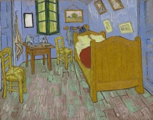 "Van Gogh's ""Bedroom"" Installation"