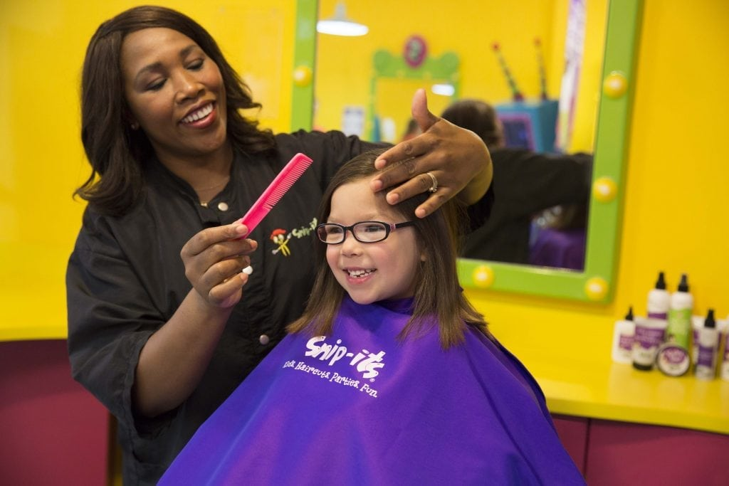 Kids Haircuts Get Playful At Snip Its Sgv Location