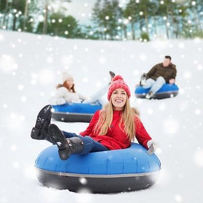 snow activities in la