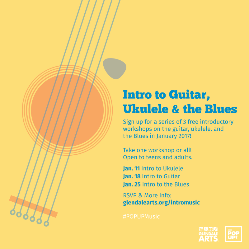 POPUP! Intro to Guitar, Ukulele and the Blues