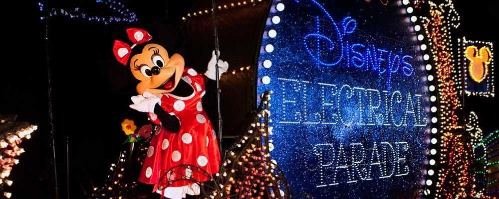 Disneyland's Main Street Electrical Light Parade