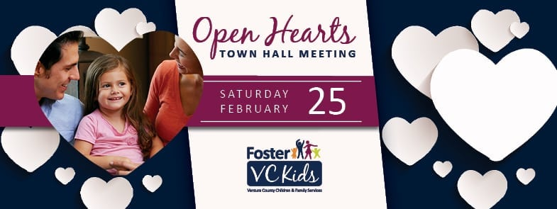 Foster VC Kids Open Heart Town Hall Meeting