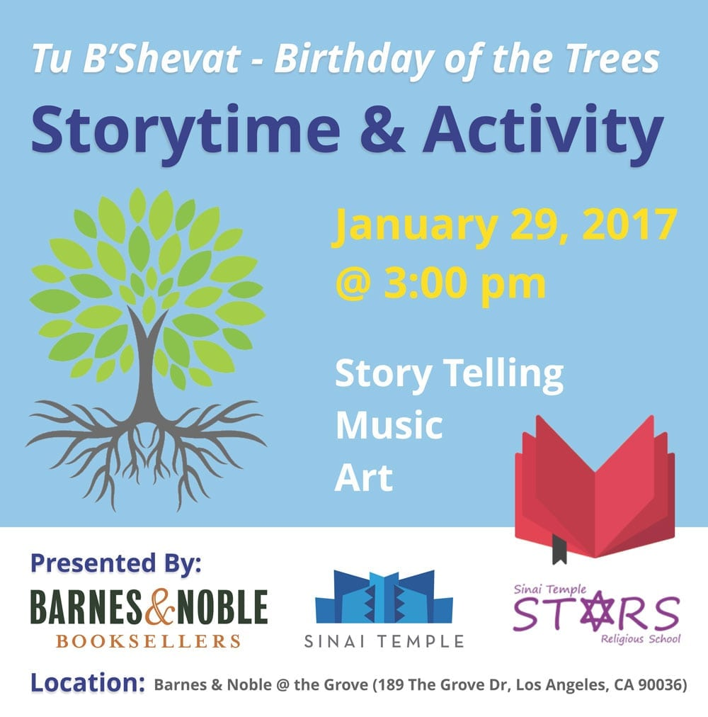 Celebrate Trees with Storytelling, Songs and Crafts for Children and Families!