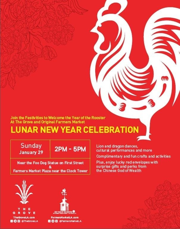 The Grove and Original Farmer's Market Celebrate Lunar New Year