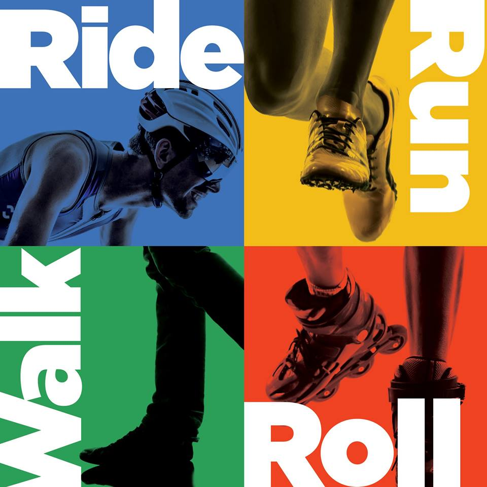 Finish The Ride, Run, Walk N' Roll