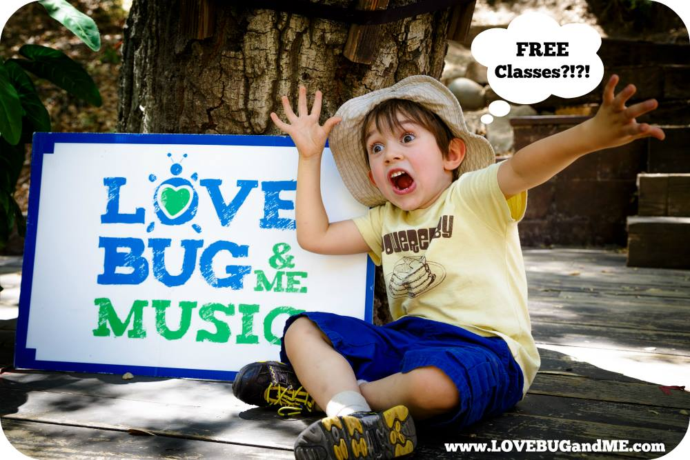 Free LoveBug & Me Music Class in Santa Monica