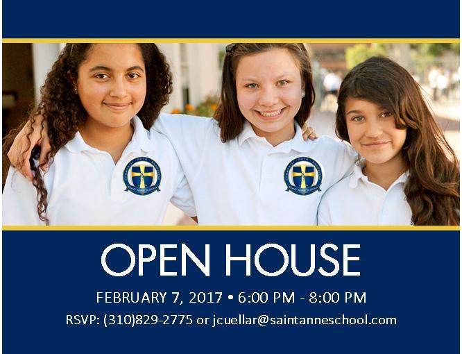 Saint Anne School Open House