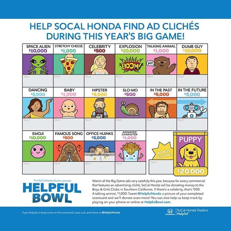 """SoCal Honda's """"Helpful Bowl"""" Fundraiser"""