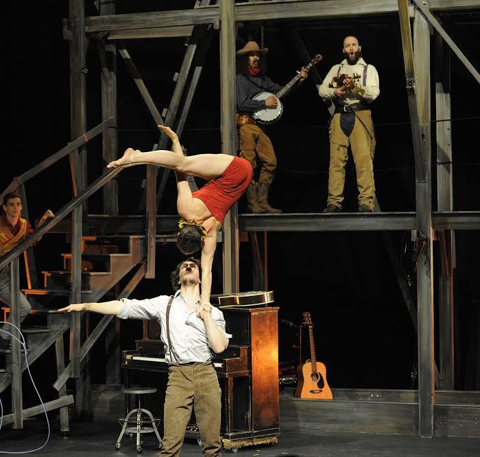Cirque Éloize presents Saloon