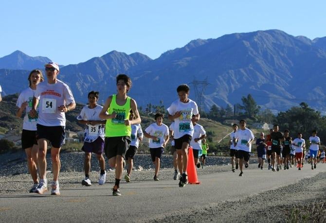 Students Run LA 18-Mile Friendship Run